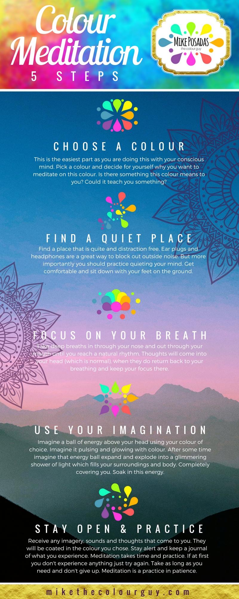 5 Step Colour Meditation