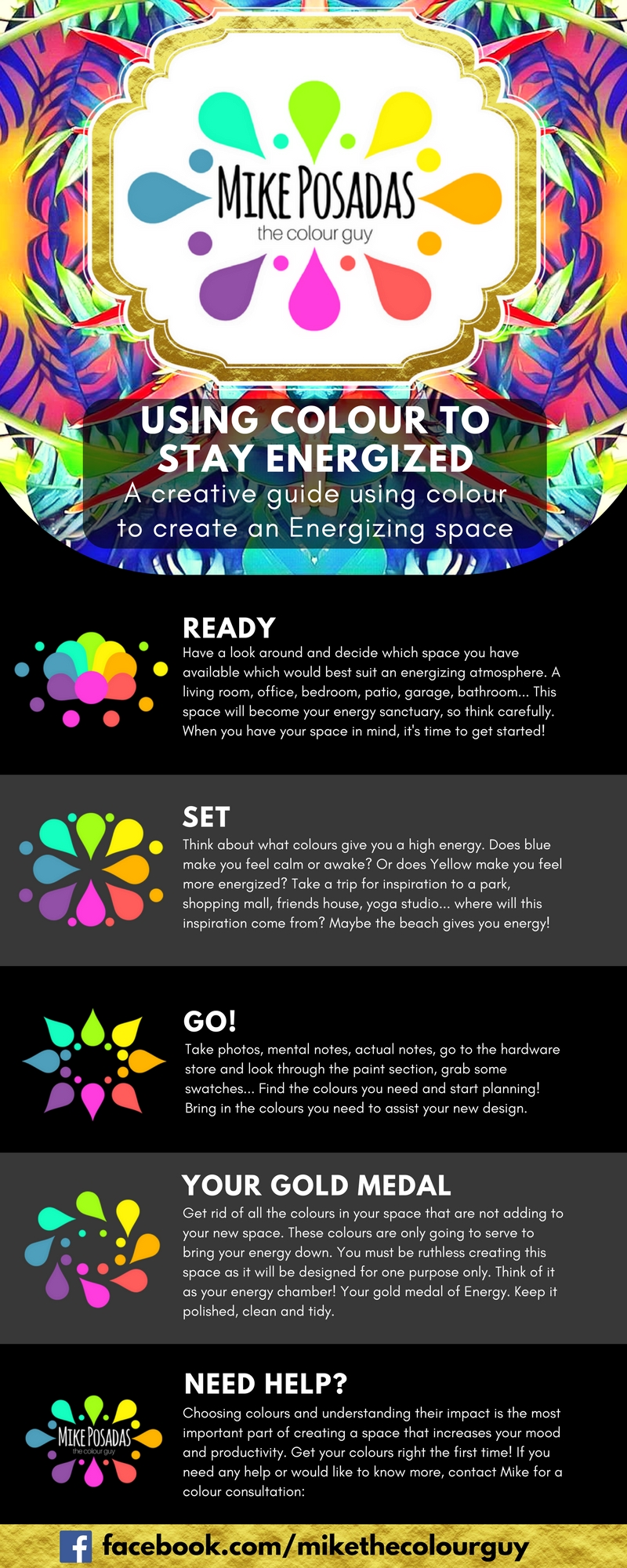 Using colour to stay energized